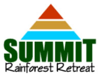 The Summit Rainforest Retreat Logo and Images