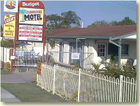 Caboolture Motel Logo and Images