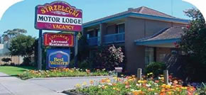 Strzelecki Motor Lodge Logo and Images