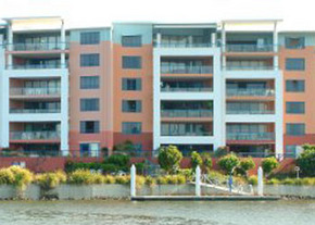 The Jetty Apartments Logo and Images