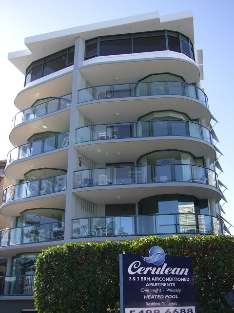 Cerulean Beachfront Apartments Logo and Images