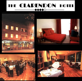 The Clarendon Hotel Logo and Images