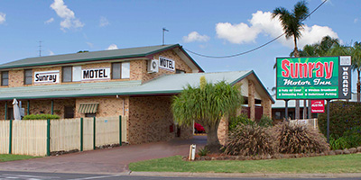 Sunray Motor Inn Toowoomba Logo and Images