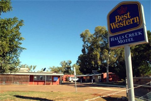 Halls Creek Motel Logo and Images