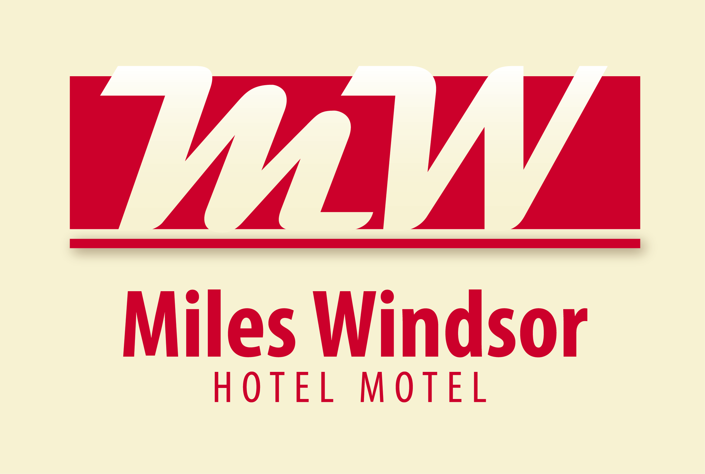 Miles Windsor Hotel Motel Logo and Images