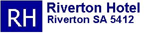 Riverton Hotel Logo and Images