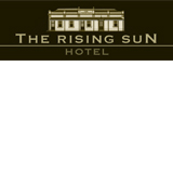 The Rising Sun Hotel Logo and Images