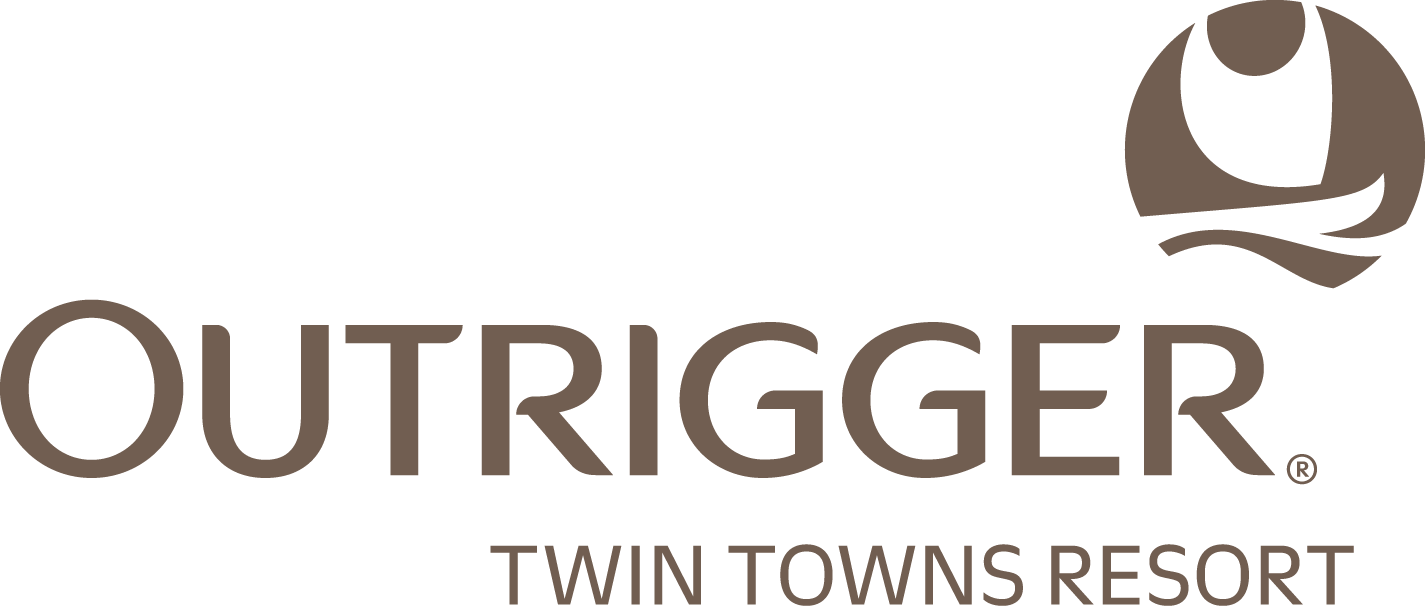 Outrigger Twin Towns Resort Logo and Images