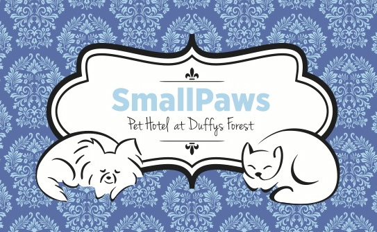 SmallPaws Pet Hotel Logo and Images