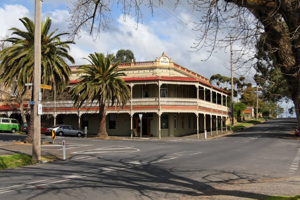 The Midland Hotel, Castlemaine Logo and Images