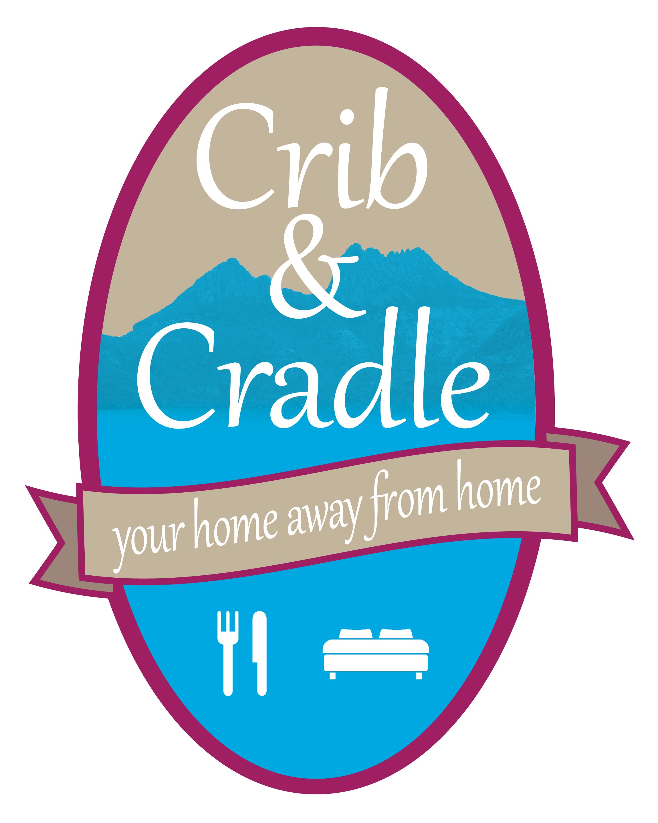 Crib & Cradle Logo and Images