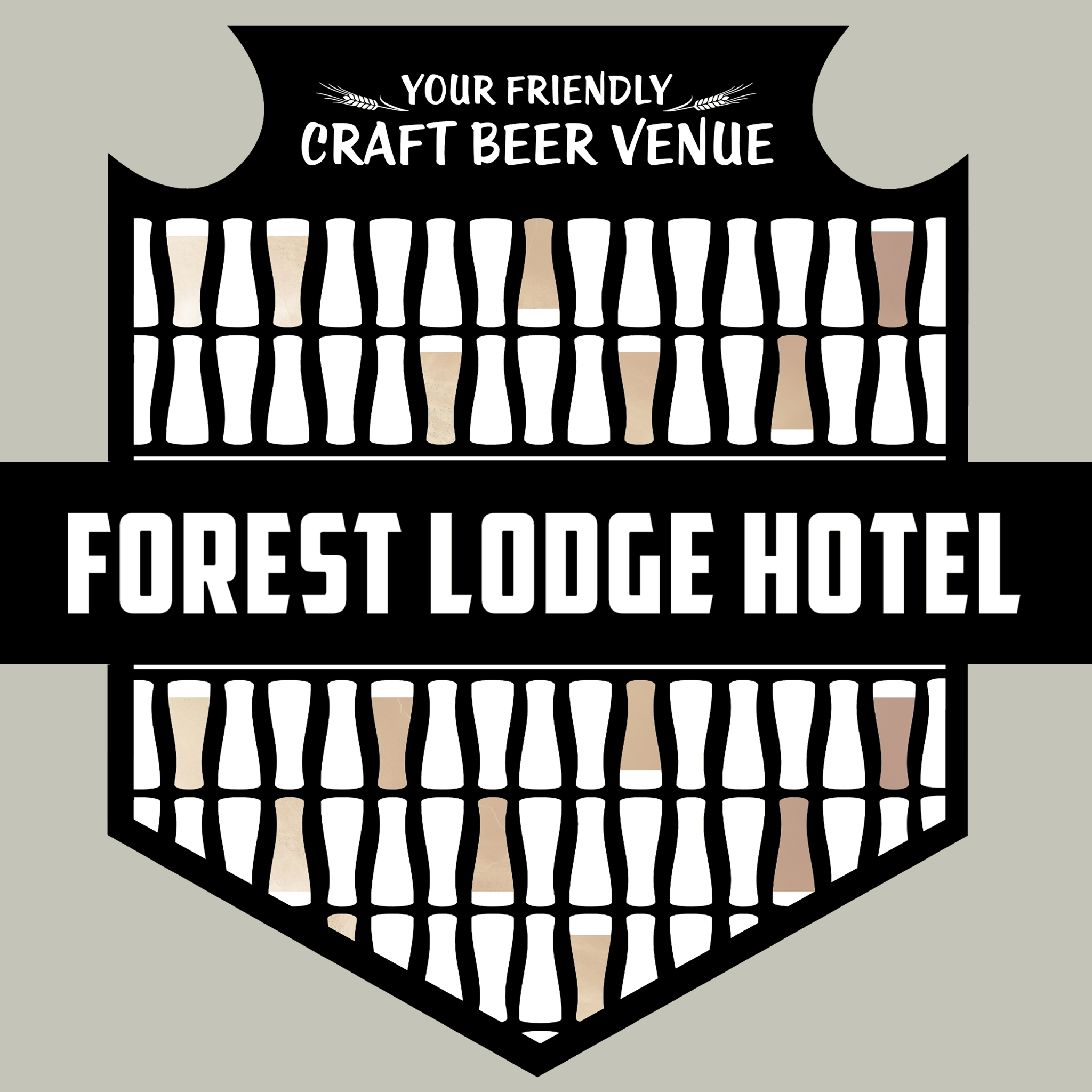 Forest Lodge Hotel Logo and Images