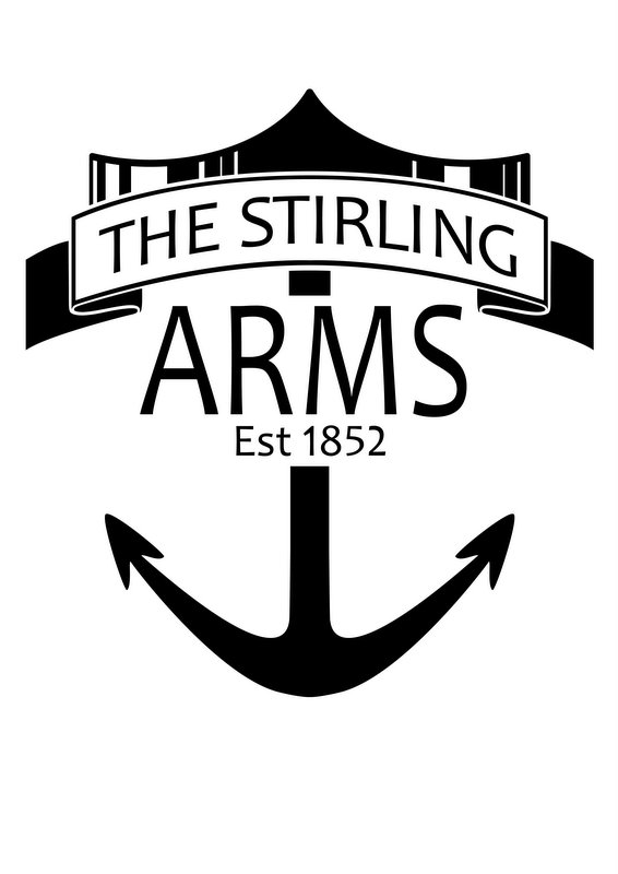 Stirling Arms Hotel Logo and Images