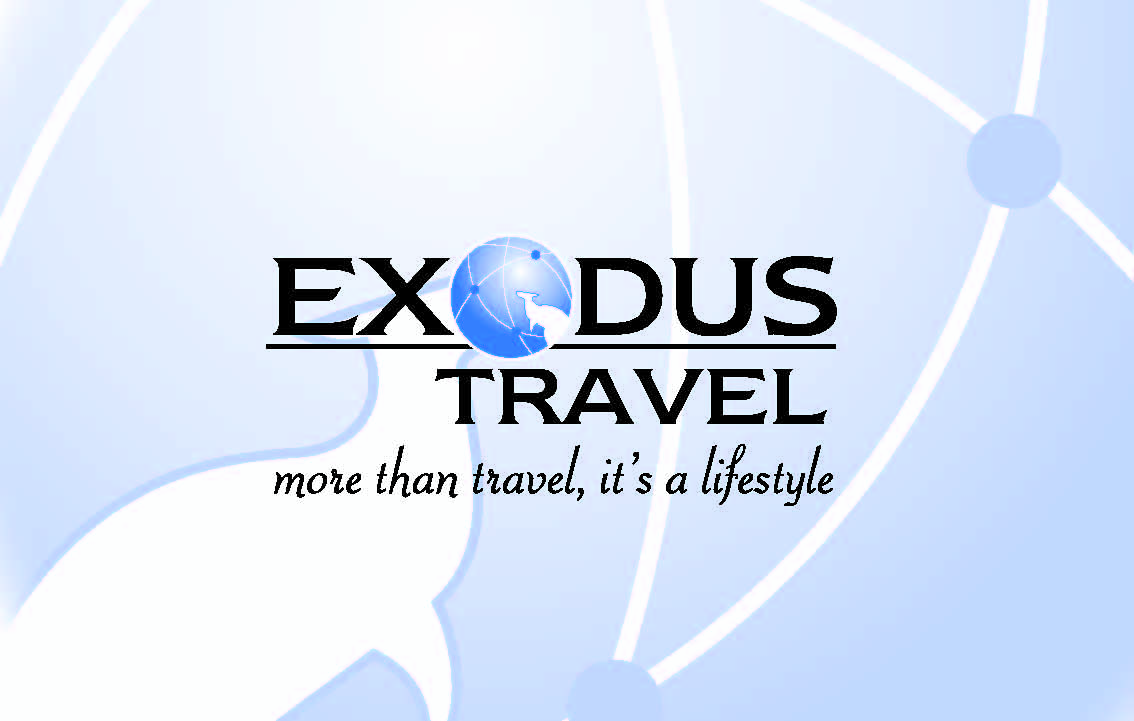 Exodus Travel Agency Logo and Images