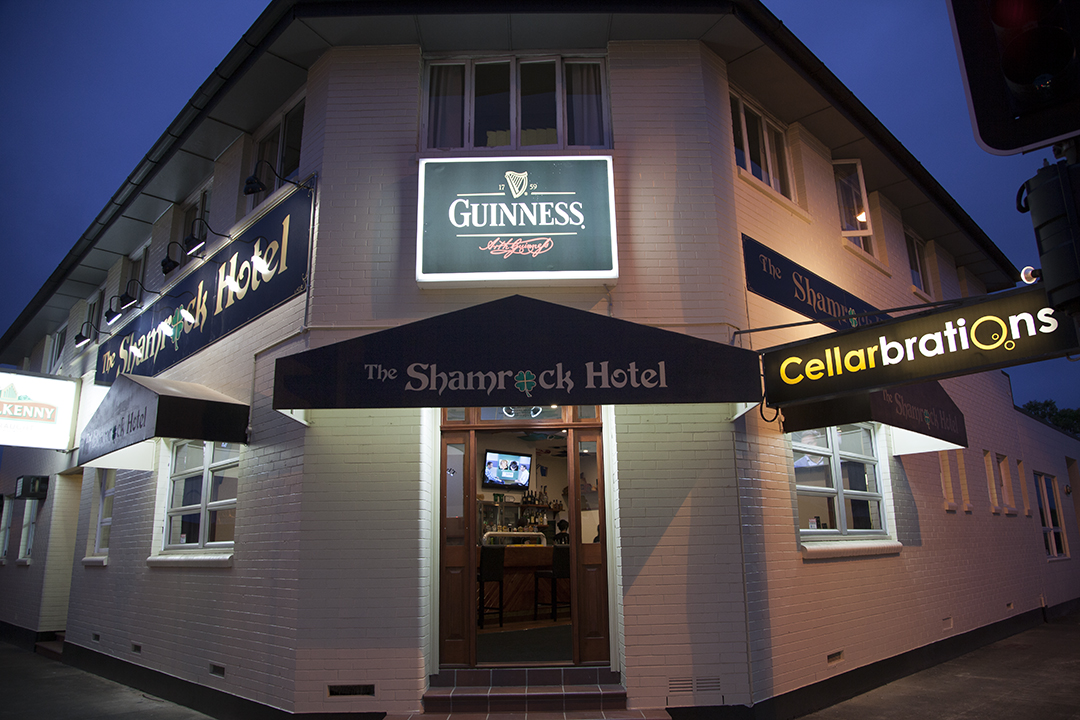 Shamrock Hotel Logo and Images