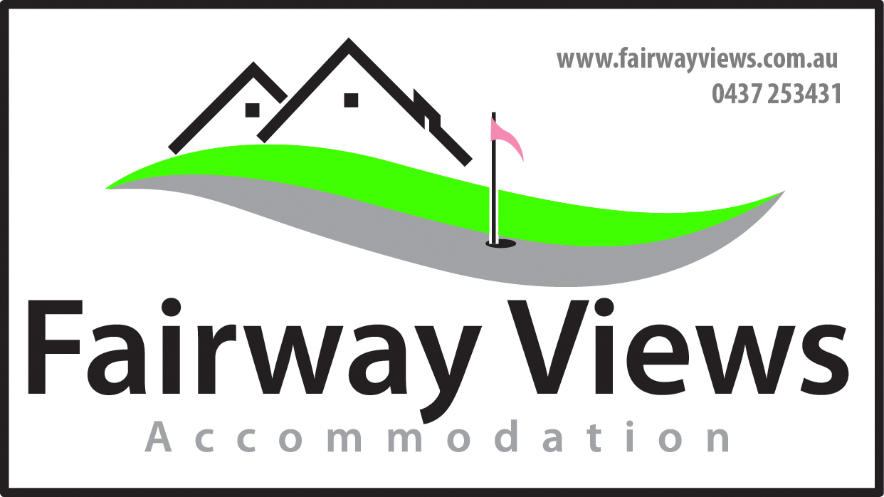 Fairway Views Accommodation Logo and Images