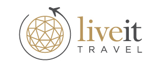 Live It Travel Logo and Images