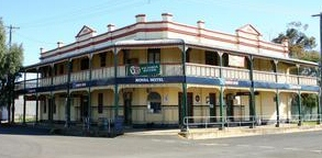 Royal Hotel Boggabri Logo and Images