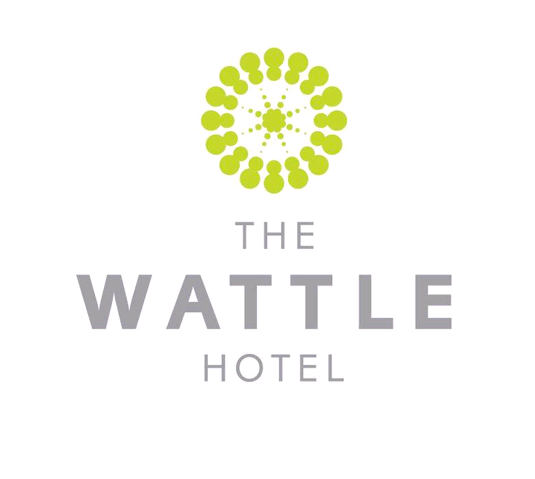 The Wattle Hotel Logo and Images