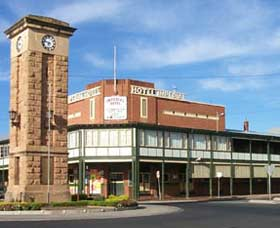 Imperial Hotel Coonabarabran Logo and Images