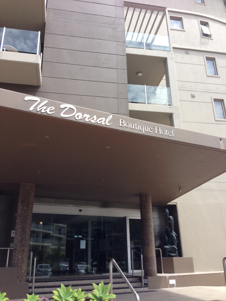 The Dorsal Boutique Hotel Logo and Images