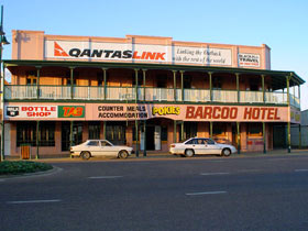 Barcoo Hotel Logo and Images