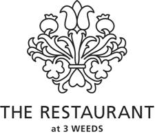 Restaurant at 3 Weeds Logo and Images