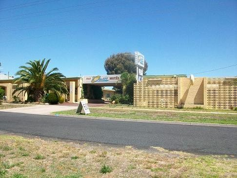 Nhill Oasis Motel Logo and Images