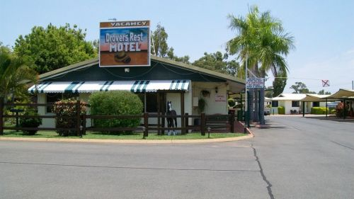 Drovers Rest Motel Logo and Images