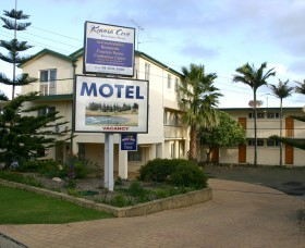 Kiama Cove Motel Logo and Images