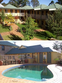 Pioneer Motel Kangaroo Valley Logo and Images