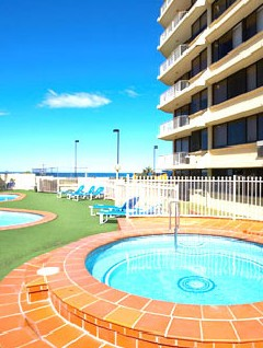 Breakers North Beachfront Apartments Logo and Images