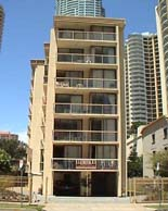 Surfers Paradise Beach Holiday Units Logo and Images