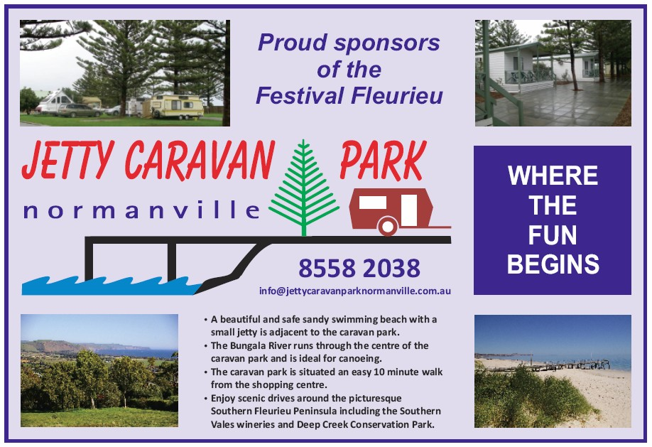Jetty Caravan Park Normanville Logo and Images