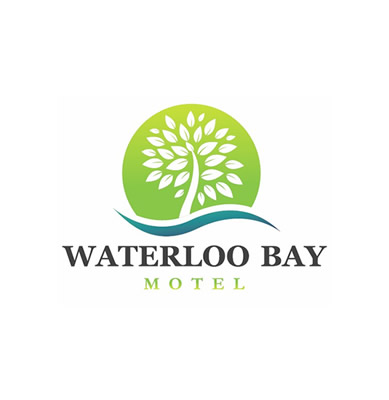 Waterloo Bay Motel Logo and Images