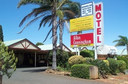 Allan Cunningham Motel Logo and Images