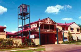 Dalby Homestead Motel Logo and Images