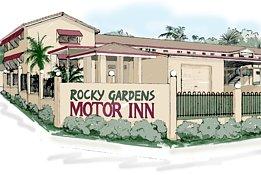 Rocky Gardens Motor Inn Logo and Images