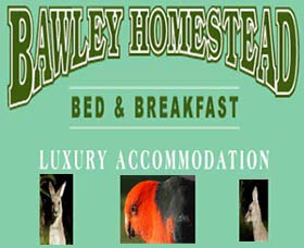 Bawley Homestead Bed And Breakfast Logo and Images
