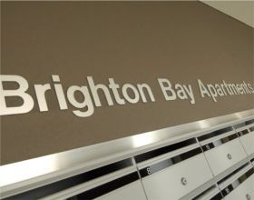 Brighton Bay Apartments Logo and Images
