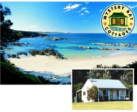 Mystery Bay Cottages Logo and Images