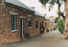 Burra Heritage Cottages - Tivers Row Logo and Images