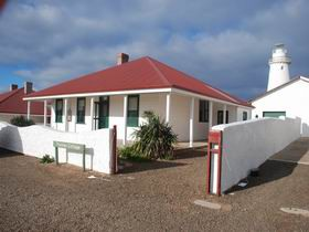 Cape Willoughby Lighthouse Keepers Heritage Accommodation Logo and Images