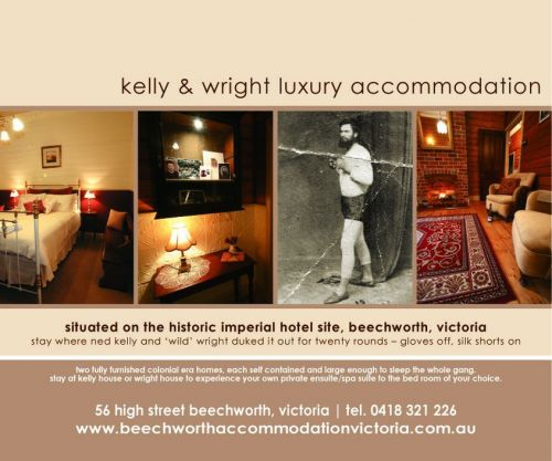Beechworth Accommodation Victoria Logo and Images