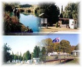Cunningham Caravan Park Logo and Images