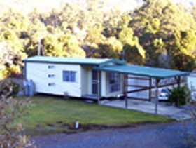 Rosebery Cabin & Tourist Park Logo and Images