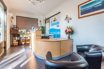 The Esplanade Motel - formerly Eco-Inn Warners Bay Logo and Images