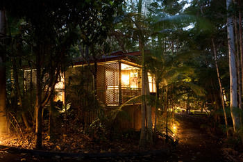 Amore On Buderim Luxury Rainforest Cabins Logo and Images