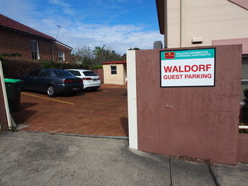 Waldorf Drummoyne Serviced Apartments Logo and Images