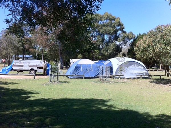 Amity Point Camping Ground Logo and Images